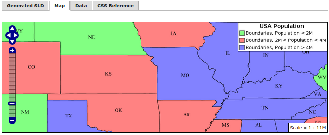 Tutorial: Styling data with CSS — GeoServer 2 10 x User Manual